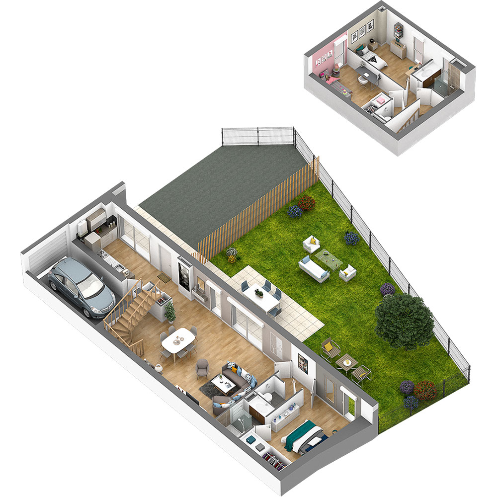 Voir un exemple de maison